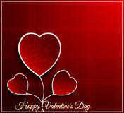 Valentine day flower heart Royalty Free Stock Photo