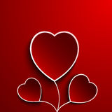 Valentine day flower heart Stock Photography