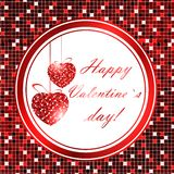 Valentine day frame Stock Photography