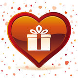 Valentine day gift Royalty Free Stock Photos
