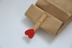 Valentine Day Gift Stockfotografie