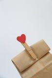 Valentine Day Gift Lizenzfreies Stockbild