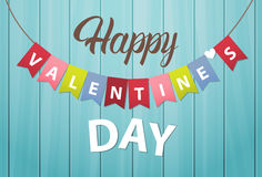 Valentine Day Gift Card Holiday Love Banner Royalty Free Stock Photos