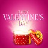 Valentine Day Gift Royalty Free Stock Photos