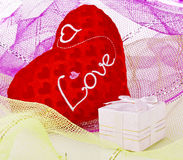 Valentine day Gifts Stock Images