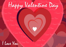Valentine Day Greeting Stock Image