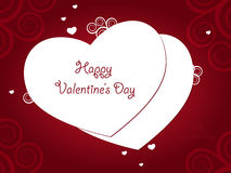 Valentine Day Greeting Royalty Free Stock Photo
