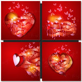 Valentine Day Greeting Card Image stock
