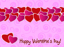 Valentine day greeting card Stock Photo
