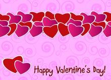 Valentine day greeting card Stock Photo