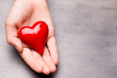 Valentine day greeting card. Stock Photos