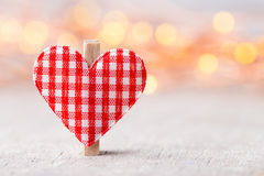 Valentine day greeting card. Stock Photography