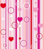 Valentine day greeting card vector Stock Image
