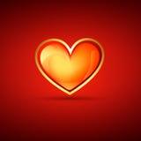 Valentine day heart Royalty Free Stock Photos