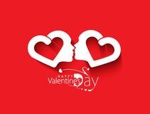 Valentine Day Heart Design Fotos de archivo