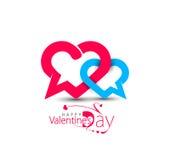 Valentine Day Heart Design Fotografía de archivo