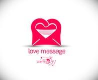 Valentine Day Heart Design Fotos de archivo libres de regalías