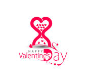 Valentine Day Heart Design Imagenes de archivo