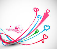 Valentine Day Heart Design Element Royalty Free Stock Photography