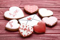 Valentine day heart stock photography