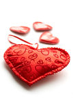 Valentine day hearts Stock Photo
