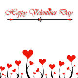 Valentine Day hearts Royalty Free Stock Photography