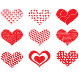 Valentine day hearts Royalty Free Stock Image