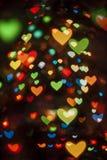 Valentine day. Holiday bokeh background Stock Photos