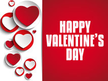 Valentine Day I Love you Heart Royalty Free Stock Images