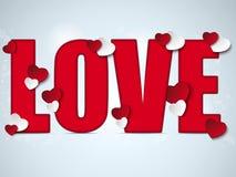 Valentine Day I Love you Heart Royalty Free Stock Photo