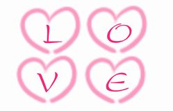 Valentine Day illustration background stock illustration