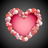Valentine Day Lollipop Stock Image