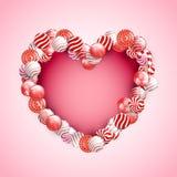 Valentine Day Lollipop Royalty Free Stock Photo