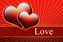 Valentine day and love background Stock Images