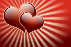Valentine day and love background Royalty Free Stock Images
