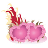 Valentine day lovely hearts. Stock Photography