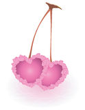 Valentine day lovely hearts. Stock Photo