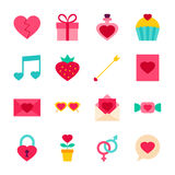 Valentine Day Objects Royalty Free Stock Image