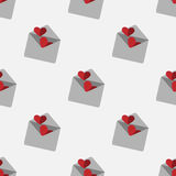 Valentine day pattern. It can be used as seamless textures Stock Image