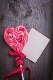 Valentine day postcard Stock Photo