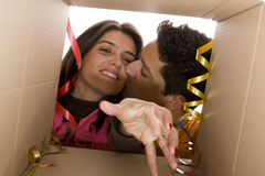 Valentine Day Present Stock Image