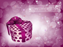 Valentine day present Stock Images