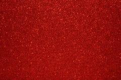 Valentine Day Red Glitter för nytt år för jul bakgrund Tyg för ferieabstrakt begrepptextur Beståndsdel exponering arkivbild
