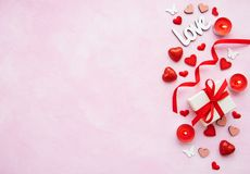 Valentine day romantic background royalty free stock photography