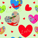 Valentine day's background Stock Photo