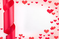 Valentine Day's background Stock Photos