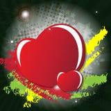 Valentine Day's card Stock Image