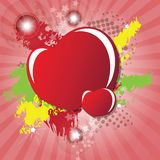 Valentine Day's card Royalty Free Stock Photography