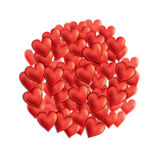 Valentine Day's hearts Royalty Free Stock Images