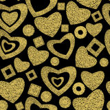 Valentine day seamless background pattern Stock Photography